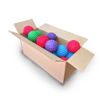 Bulk - Massage Ball - Mixed - 20pk