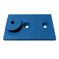 Performance Slide Board - Button Plate