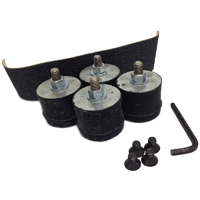 Pro Fitter - Replacement Foot Pad Mount Kit - 4