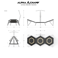 Alpha Champ Lateral Rebounder