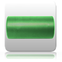 PhysioRoller - Short - Green