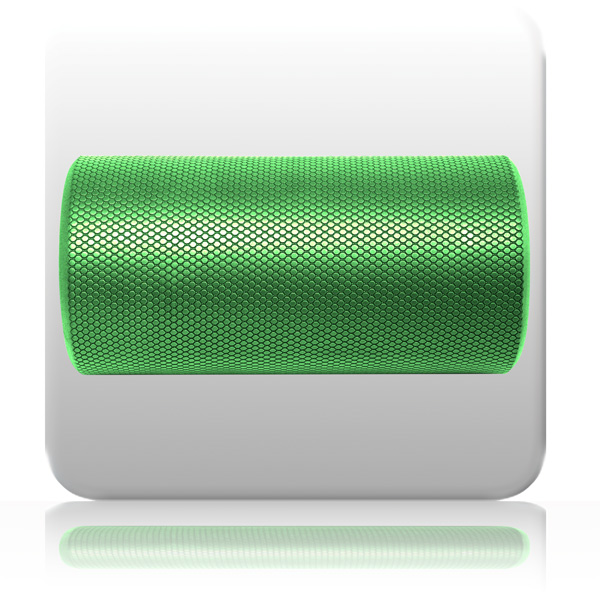 AOK PhysioRoller - Short - Green | Sports, Fitness and Exercise