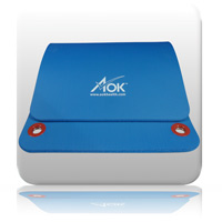 AOK Exercise Mat - Blue - 15mm