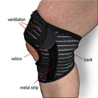 ActiveMOVE Knee Support - Adjustable