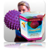 Massage Ball 10cm - Purple (Gift Box)