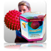 Massage Ball 10cm - Red (Gift Box)