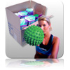 Bulk - Massage Ball - Green - Gift Boxed 12pk