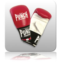 Punch Prolux Mitts - Medium - Red