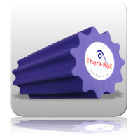 Thera-Roll Small 20cm x 7.5cm Purple (Firm)