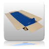 Bulk 10 - Platinum Long Mat - Navy Blue