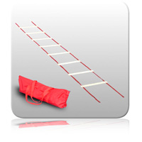 Agility Ladder - (Adjustable) 12 Rungs (5m)