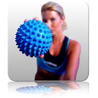 Massage Ball 10cm - Blue