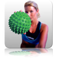 Massage Ball 10cm - Green