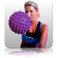 Massage Ball 10cm - Purple