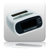 SunStep Solar Powered Pedometer